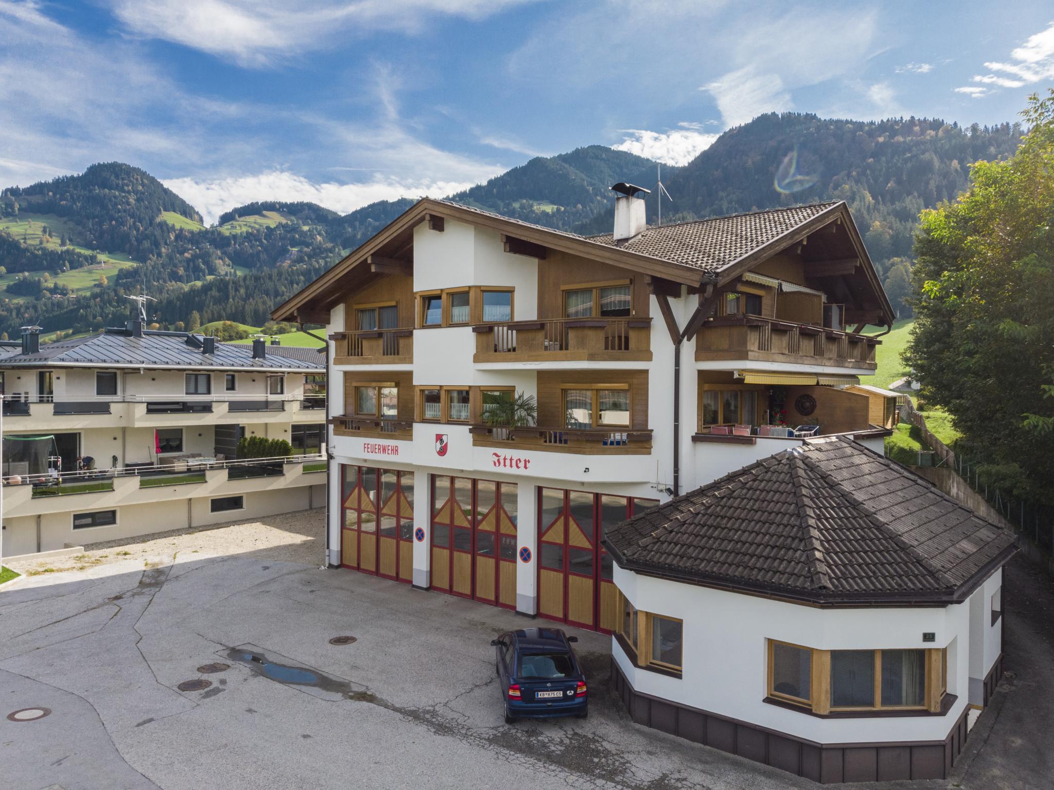 Blick auf Itter Tirol