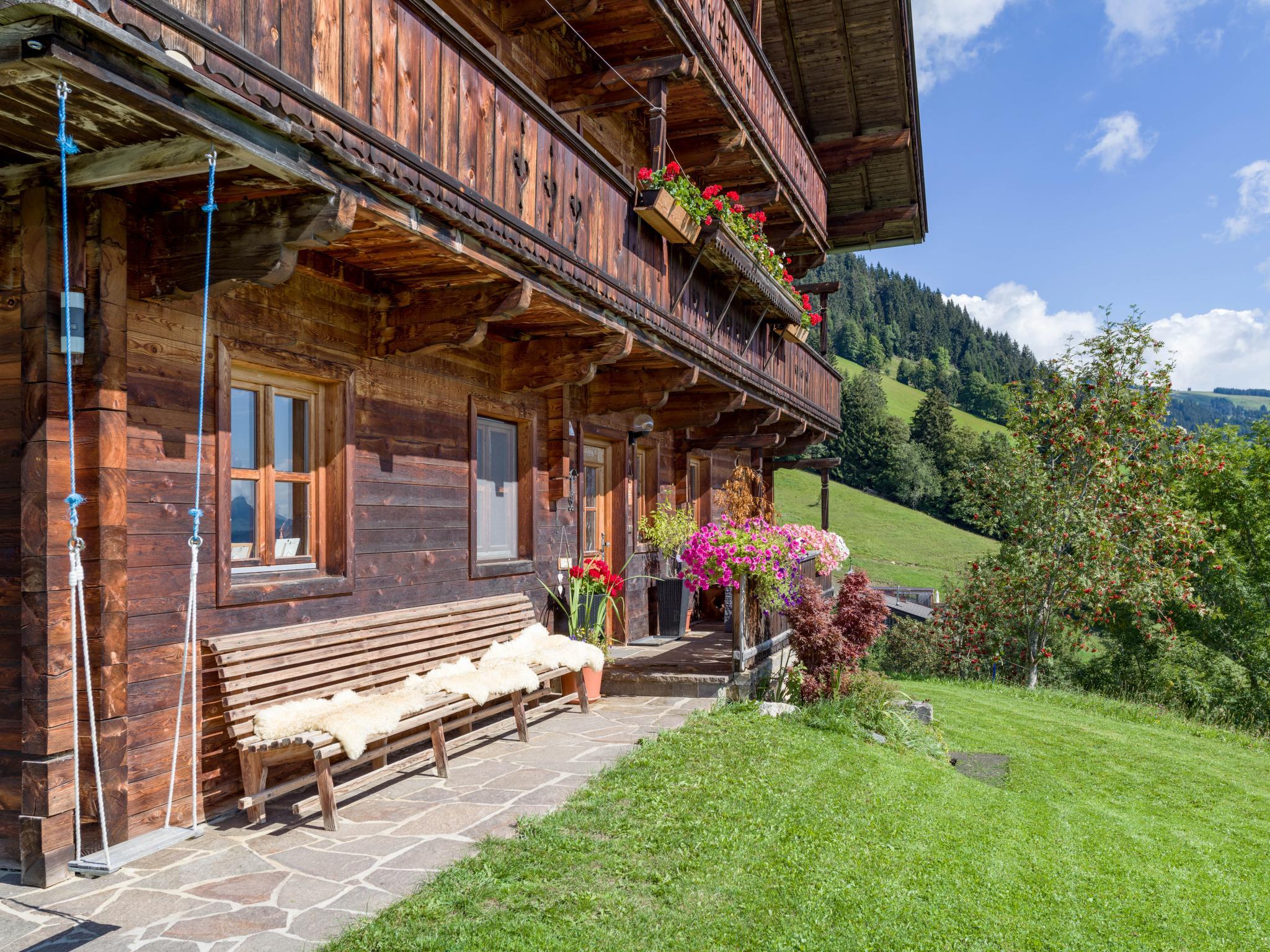 Troadstadl Brixentalblick Tirol