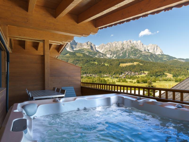 Luxusvilla mit Whirlpool schöner Blick auf de Ferienhaus in Österreich